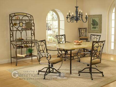 Brookside 5-Piece Table Set (Table + 4 chairs)