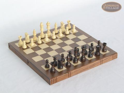 Book-style Folding Chess Set