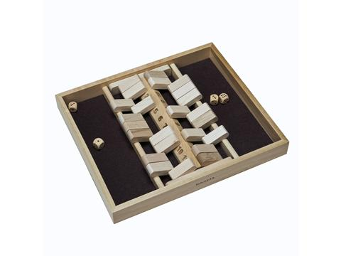 Double Sided Shut the Box - 12 Numbers (Made in USA)