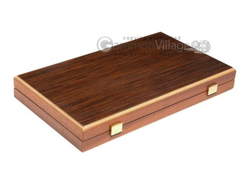 15-inch Wenge Backgammon Set - Oak Field