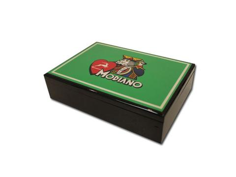 Modiano Hi Gloss Card Case - Green