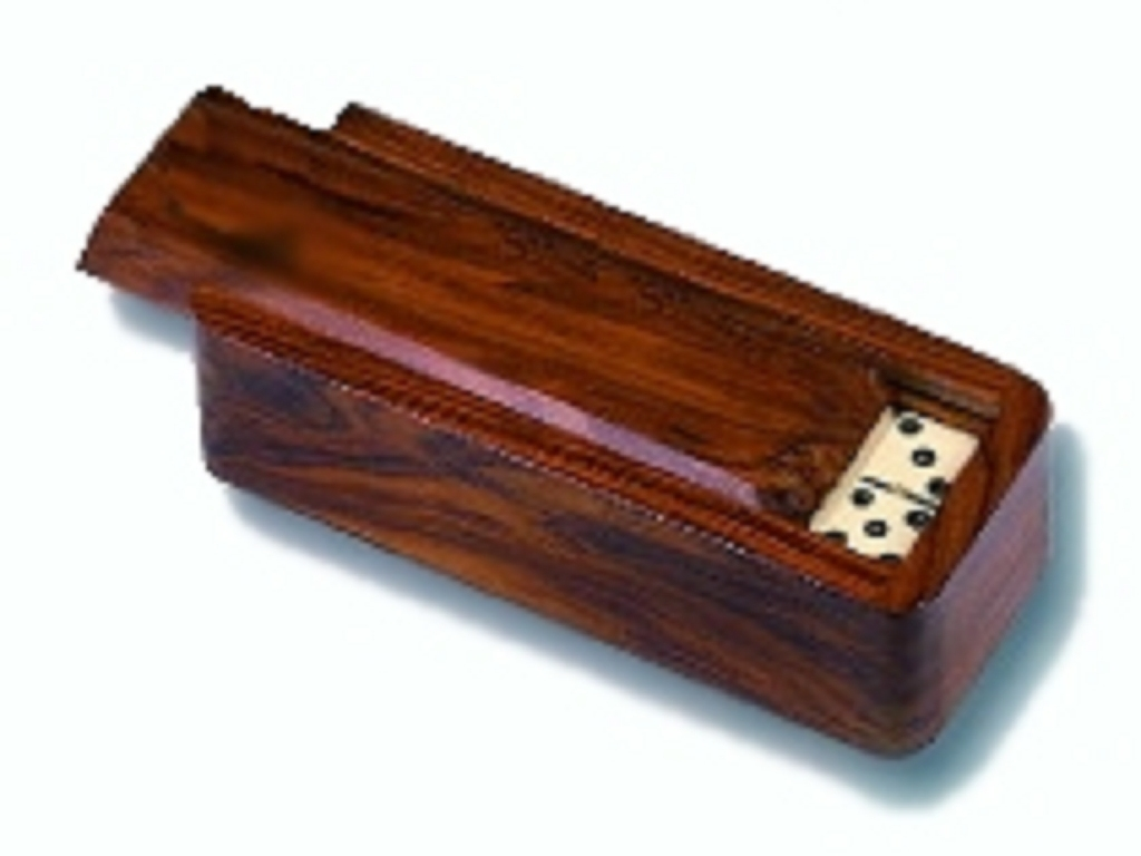 Dominoes with Wood Box