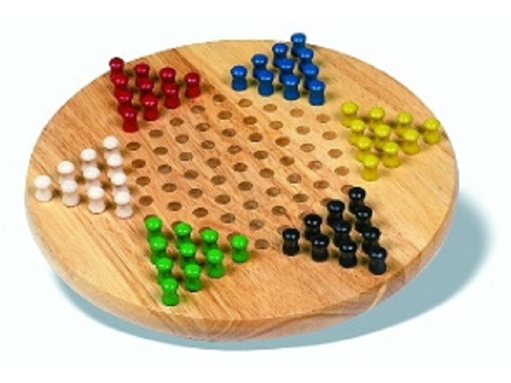 Chinese Checkers - Hardwood Board - Miscellaneous Games - Board Games - Table Games ...