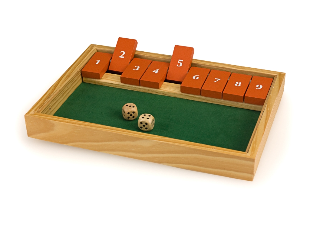 4329 - Shut The Box (9 Numbers)
