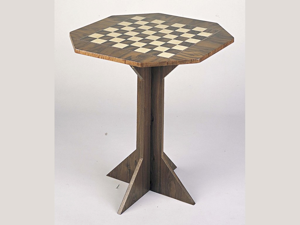 Octagon Chess Table