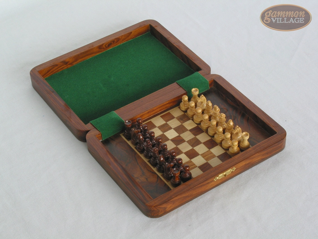 Small Folding Magnetic Chess Set Travel Chess Sets