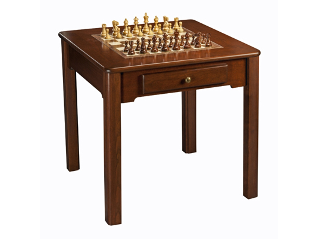 29 9032   Chess / Checkers / Backgammon Table [31 1/2in.