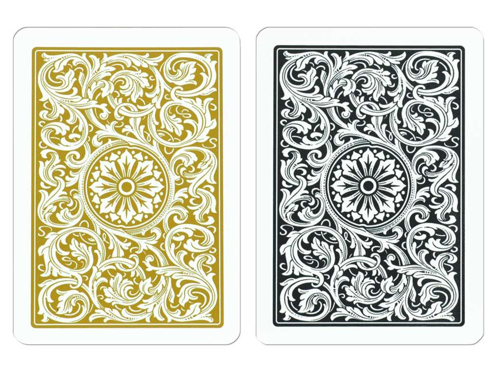 Copag Poker Black/Gold Cards - Double Deck