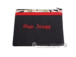 Mah Jongg League Card Zippered Pouch - Black