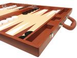 19-inch Premium Backgammon Set - Desert Brown