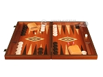 Wenge Backgammon Set - Large - Mahogany Field