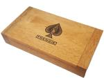 Frengie Bicycle Dominoes - Double 6 - Deluxe Wood Case