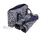 Empty Soft-Sided Mah Jongg Case by Linda Li™ (fits modern pushers) - Blue Paisley